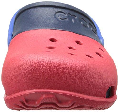 Crocs Electro Ii, Sabots - Mixte enfant Rouge (Red/Navy)