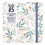 Busy B Passwortbuch - Blumen