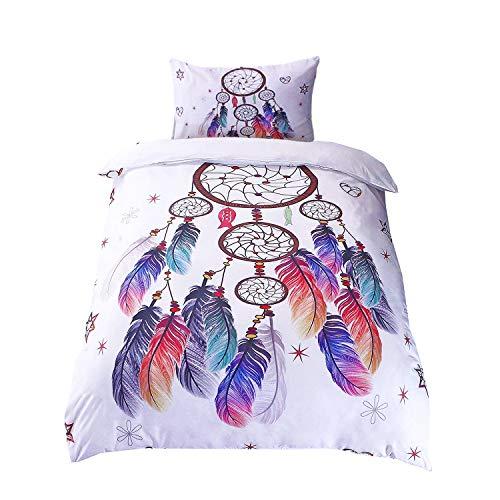 Schöne Bettwäsche Mit Dem Motiv Federn Einfach Online Finden