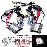 takestop® kit LUCI XENON centraline FARI PER AUTO XENON LAMPADA H1 6000 K CENTRALINA SLIM 6000K CABLAGGIO LUMINOSO ALTA VISIONE TUNING