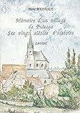 Mémoire d'un village de Puisaye : Lavau de Pierre Pouvesle (1 décembre 2008) Broché