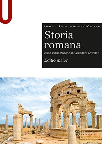 STORIA ROMANA - Edizione digitale: Editio maior - Con la collaborazione di Alessandro Cristofori