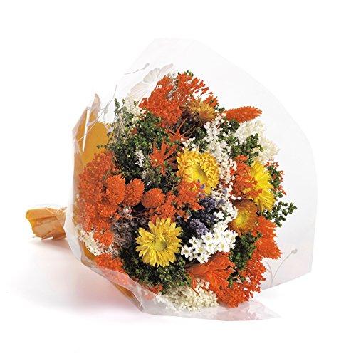 Galleria fotografica Bouquet Fantasy (Arancio) Sanremo fiori essiccati dalla Riviera dei Fiori