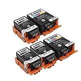 Inkwayw de remplacement epson 266 T2661 T2670 cartouche d'encre avec de l'encre...