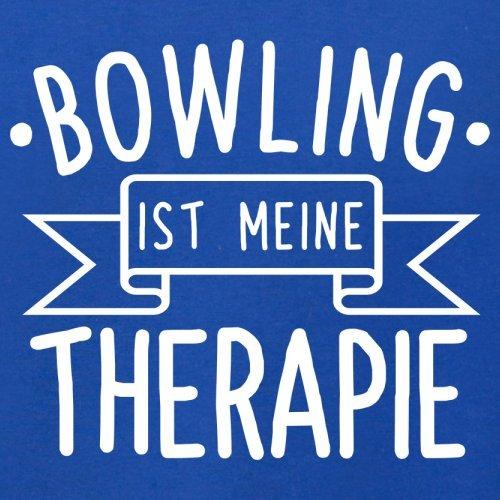 Bowling ist meine Therapie - Herren T-Shirt - 13 Farben Royalblau