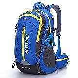 vitalite-40l impermeable resistente Deportes al aire libre Senderismo Escalada Mochila de senderismo mochila, azul