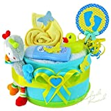 Torta di Pannolini/Pampers torta > Baby per bambini in tonalità...