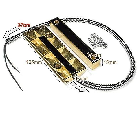 Porte-volet à rouleaux câblés Contact magnétique CA-55 contacts en or et en cuivre
