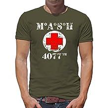 Touchlines Merchandise TLM Mash 4077 Camiseta Para Hombre T-Shirt