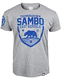 Sambo T-shirt. Thumbs Down East Republic. Last Fight. Gladiator Bloodline. Sambo Martial Arts. MMA T-shirt