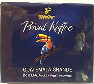 tchibo privat kaffee guatemala grande gemahlen 2x250g. Black Bedroom Furniture Sets. Home Design Ideas