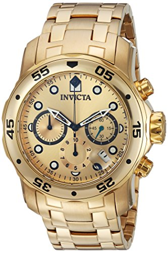 51jlFNeamPL - Invicta Pro Diver Gold Mens 74 watch