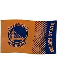 Golden State Warriors Drapeau–Drapeau 152cm x 91cm NBA Supporter Boutique