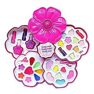 Bogget Cosméticos para niños Juguetes Juego de Juguetes para niñas Play House Juego de Maquillaje para niñas Juego de Maquillaje para niños Juguetes de Maquillaje para niños Juego de Juguetes