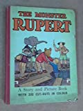 The Monster Rupert Picture and Story Book with Colour Cut-outs