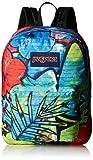 JanSport Superbreak Backpack Pink Pansy/Mammoth Blue Acid Test One Size