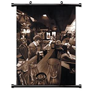 """Cowboy Bebop Anime Fabric Wall Scroll Poster (32"""" x 44"""") Inches"""