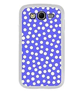 PrintVisa Designer Back Case Cover for Samsung Galaxy Grand Neo I9060 :: Samsung Galaxy Grand Lite (Blue Dotted Pattern Wallpaper)