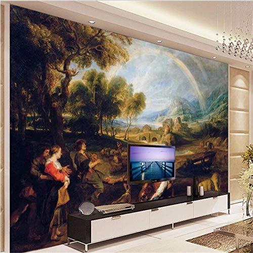 Papel pintado grande personalizado para pared