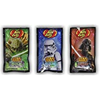 Jelly Belly Beans Star Wars 3 x 28 grammi. Personaggi Yoda, Storm Trooper, Darth Vader
