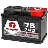 Autobatterie 75Ah 12V CA/CA Technologie +30% mehr Leistung 72Ah 74Ah 70Ah
