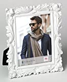 walther design QS520W Saint Germain, Portraitrahmen, 15 x 20 cm, weiß