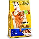 Friskies Alimento para Gato, Seco, Adulto, Con Atún Y Verduras Añadidas - 1,5 Kg