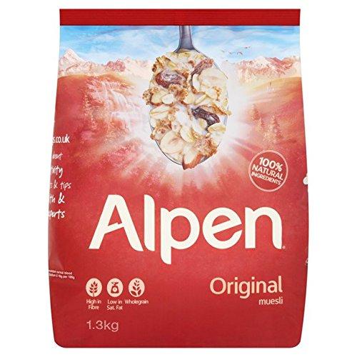 Alpen Original Schweizer Rezept Müsli 1.3kg (Herrliche Haferflocken)