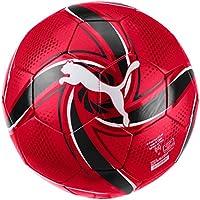 PUMA ACM Future Flare Ball, Pallone da Calcio Unisex Adulto, Tango Red Black, 5