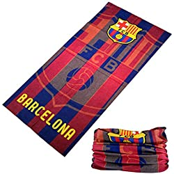 Braga para cuello del Barcelona Barça protector cara futbol bufanda