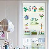 60 * 90 cm Befleckt Statisch Haftenden Fenster Film Matt Opak Privatsphäre Glas Aufkleber Wohnkultur Digitaldruck Garten