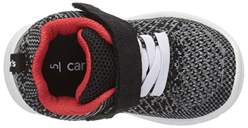 Carter's SwipeB Kleinkind Textile Turnschuhe Black/Red/Grey