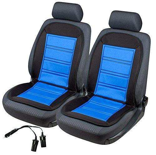 2x beheizbare Sitzauflage/Sitzheizung Warm Up inkl. Doppelsteckdose für 12V Zigarettenanzünder