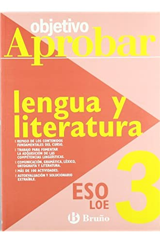 Objetivo Aprobar Lengua Y Literatura 3º Eso