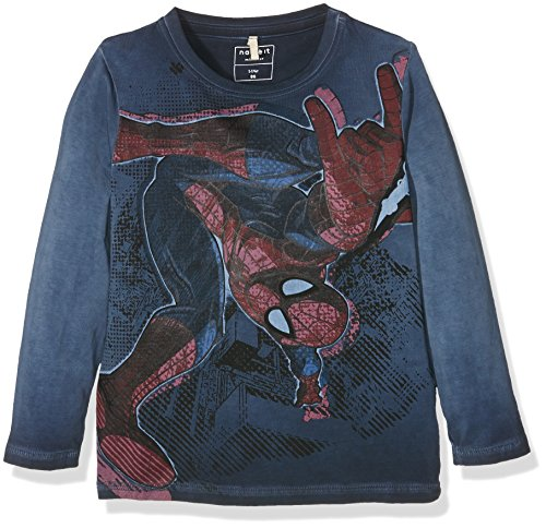 Name It Boy's Nitspiderman Parker Ls Mz Long Sleeve Top