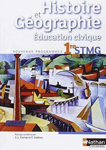 Histoire-Gographie - Education civique - 1re STMG