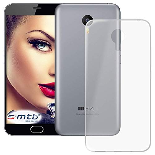 mtb more energy® Custodia Clear & Slim per Meizu M2 Note (5.5