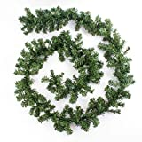 Guirnalda de Ramas Artificial de Abeto, 270 cm, Ø18 cm - decoración/Navidad - artplants