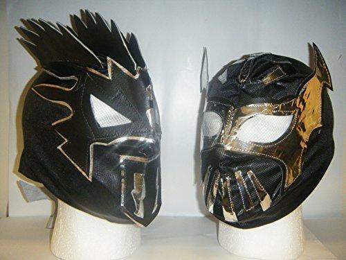 KALISTO UND SIN CARA KINDER RINGER MASKE KOSTÜM LUCHA DRACHEN WWE (Wwe Sin Cara Kostüme)