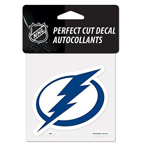 Bay Schnitt (Wincraft NHL Tampa Bay Lightning 21964011 Perfekter Schnitt Farbe Aufkleber, 4