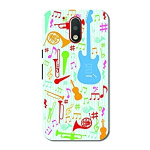 OVERSHADOW DESIGNER PRINTED BACK CASE COVER FOR MOTO G4 PLUS(4 th GENERATION )