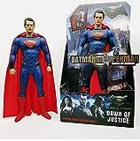 CHENF Justice League Superman mit Umhangfigur, Filmmodell Spielzeug, realistische Puppendekoration, Höhe 32cm -