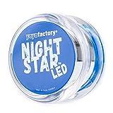 YoyoFactory NIGHTSTAR LED Yo-yo - BLAU (Leuchtendes Yoyo, Ideal für Anfänger, Schnur und Batterien Enthalten, Moderne Leistung YoYo, Freistil Yoyoing Tricks)