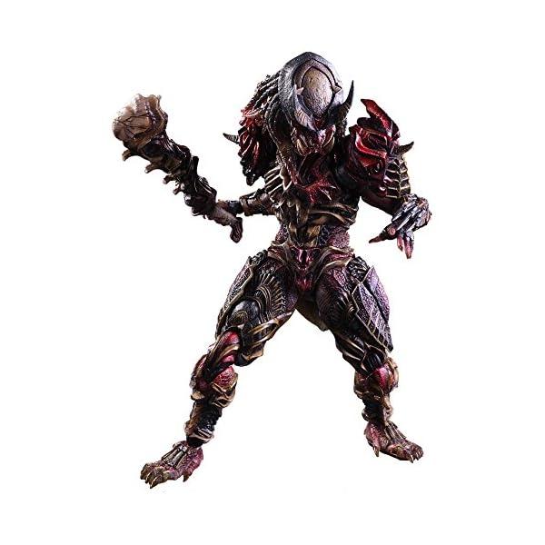 Square Enix Predator Variant Play Arts Kai Figura de acción 1