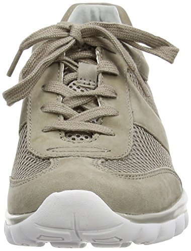 Gabor Helen - Sneakers Basses femme Beige (Taupe Mesh/Nubuck)