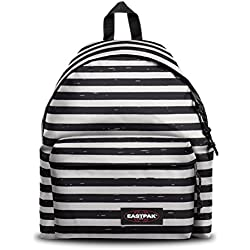 Eastpak Padded PAK'R Sac à Dos Enfants, 40 cm, 24 liters, Noir (Stripe-It Black)