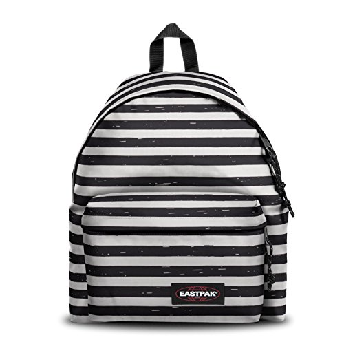 Eastpak PADDED PAK'R Zainetto per bambini, 40 cm, 24 liters, Nero (Stripe-It Black)