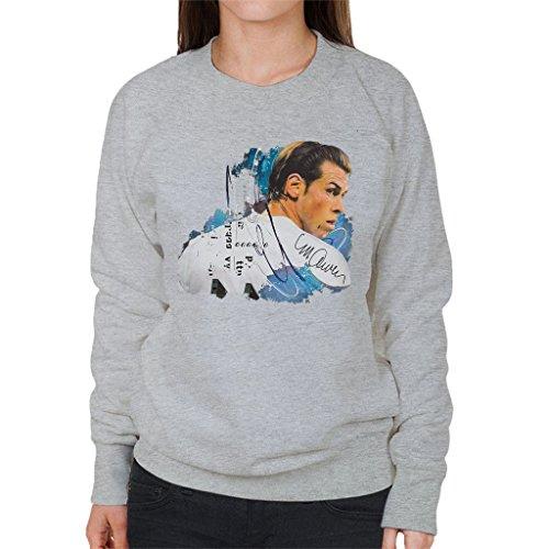 Sidney Maurer Gareth Bale Official Women's Sweatshirt Heather Grey
