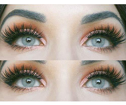und natürliche graue Kontaktlinsen SILIKON COMFORT NEUHEIT farbig