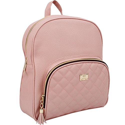 Copi Schulrucksack Der Frauen Eine Größe Einheitsgröße Rosa (3in Bindemittel)